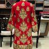 Wool Coat with kashmiri aari embroidery