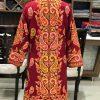 Bespoke Kashmiri Long Jacket With Paisley Jaal Embroidery