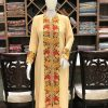 Achkan Style Indian Embroidered Tunic Kurta