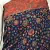 Blue Modal Silk Floral Jaal Kani Weave Saree